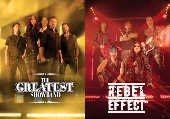 Rebel effect et Greatest Showband