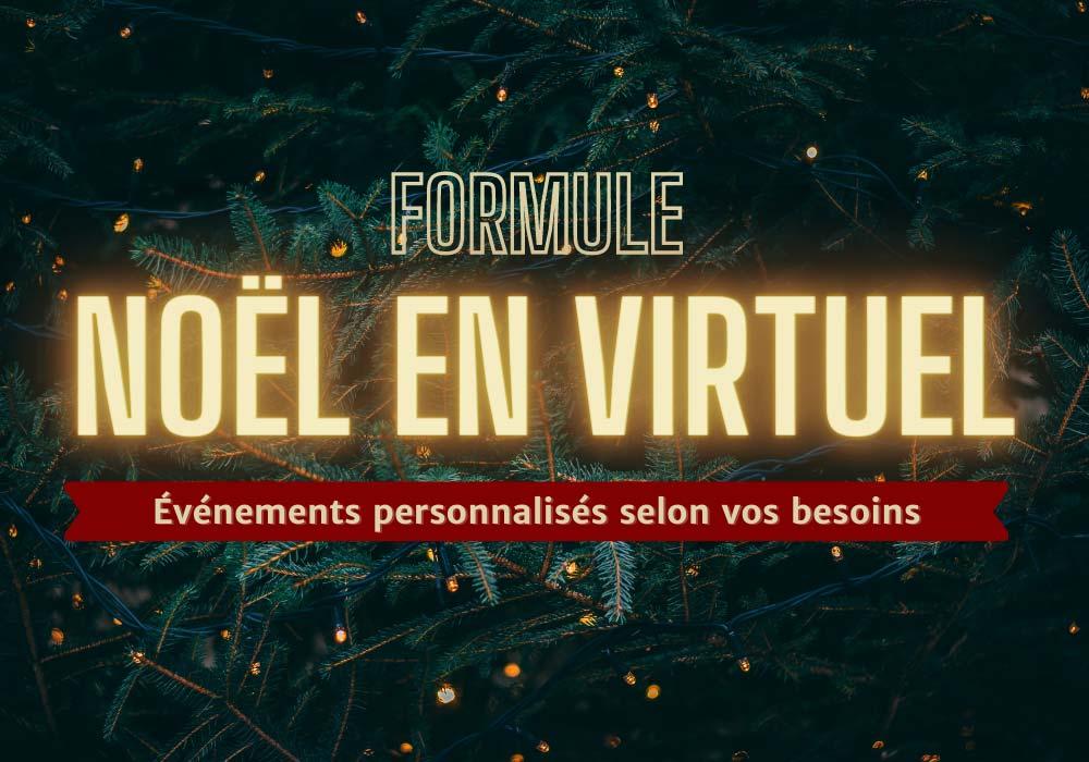 Noël en virtuel